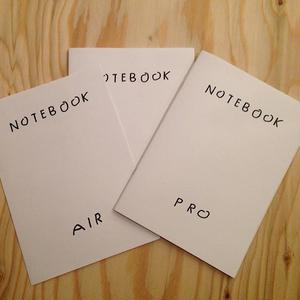 平山昌尚(HIMAA) NOTEBOOK set