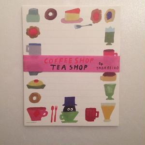 多田玲子|COFFEE SHOP TEA SHOP(レターセット)