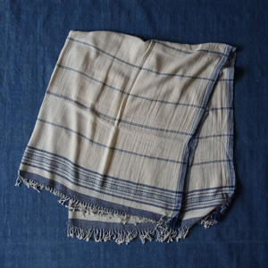 Organic Khadi Basket Throw S 150×150 (Natural)