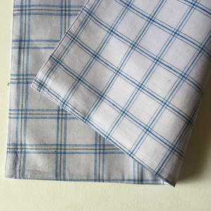 Lungi White Plaid Place Mat #A