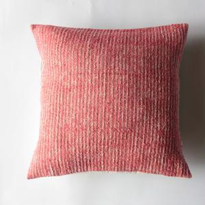Gara-bou × Khadi Cushion Cover (Cherry)