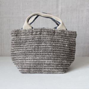 Gara-bou × Canvas Small Tote (Gray)