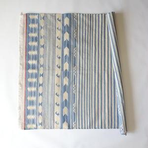 Fine Cotton Indigo Rug 100x140