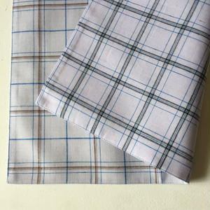 Lungi White Plaid Place Mat #C
