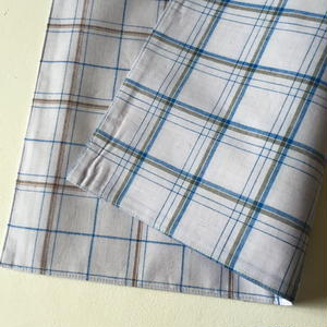 Lungi White Plaid Place Mat #N