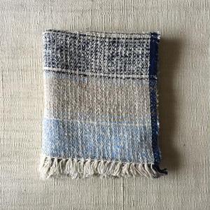 Gara-bou Medium Stole 50×190cm (Bolivian Blue)