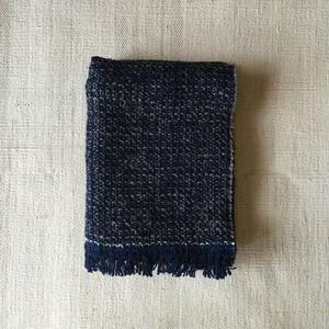 Gara-bou Medium Stole WS 50×190cm (Night Ash)