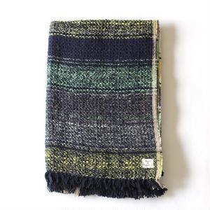 Gara-bou Blanket Stole 1ply 100×190cm (Bolivian Lime)