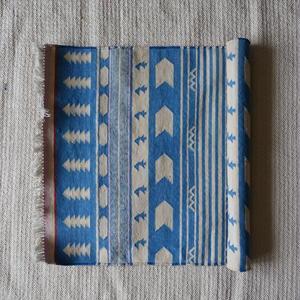 Fine Cotton Indigo Rug 60x90