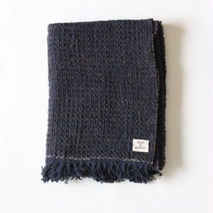 Gara-bou Medium Stole WS 50×190cm (Midnight)
