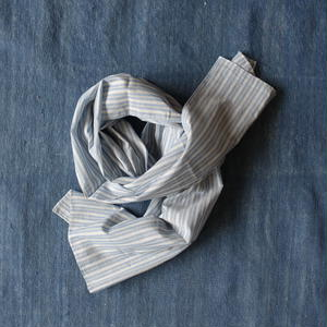 #100 Khadi Stripe Stole 54×180 (Regimental)