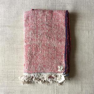 Gara-bou Blanket Stole 1ply 100×190cm (Cherry)