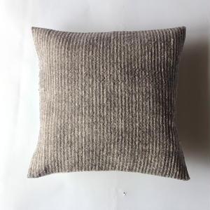 Gara-bou × Khadi Cushion Cover (Gray)