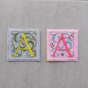 アルファベットワッペン A