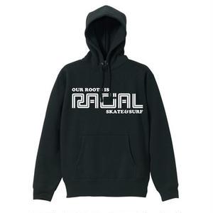 RACIAL 復刻パーカー  (ブラック)