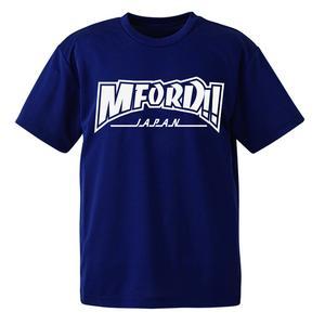 M4DマスターTシャツ「ドライ素材」ネイビー