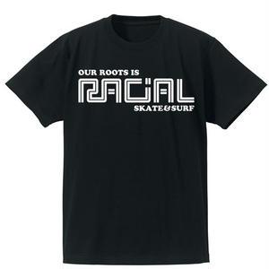 RACIAL 復刻Tシャツ (ブラック)