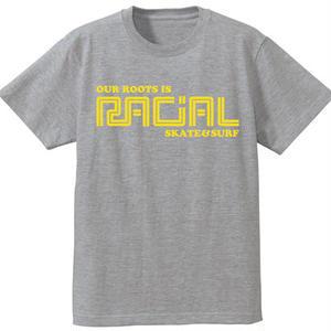 RACIAL 復刻Tシャツ (グレー)