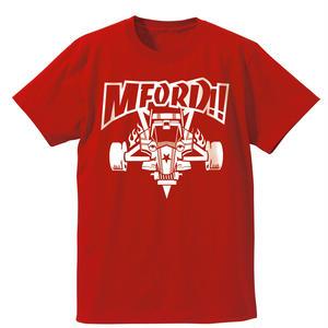 2018 M4D Tシャツ vr.1【フロントプリント】RED