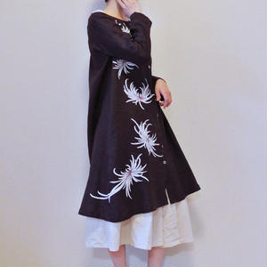 コートドレス 舞う乱菊