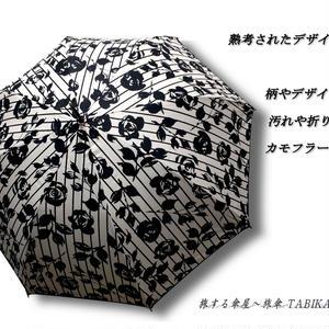 -15~18℃ 傘専門店  通販  東京  日傘  雨傘  晴雨兼用   ワンタッチ  ジャンプ  グラスファイバー  軽量  サビない  旅傘  【シルバーコート ストライプローズ whitw 】