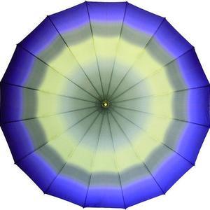 ベストセラー  傘専門店  通販  東京  雨傘  ワンタッチ  ジャンプ  グラスファイバー  サビない  旅傘  【16本骨  ぼかし  外ムラサキ】