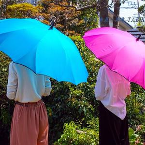 【2019年4月入荷】サクラ骨 傘専門店  通販  東京  雨傘  ワンタッチ  ジャンプ  グラスファイバー  サビない  旅傘  【一枚張り 60㎝ ターコイズ】