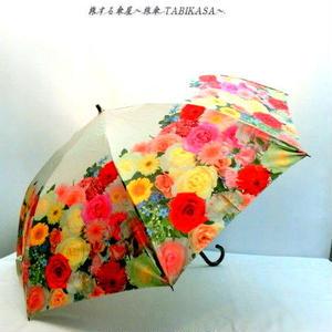 【準備中】【折りたたみと長傘】日傘 beige【Magic frame】