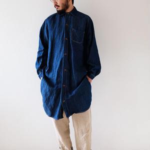 indigo long-shirts/Men's