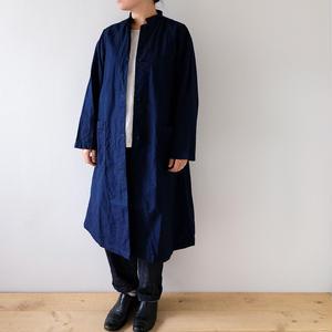 indigo long coat/Lady's
