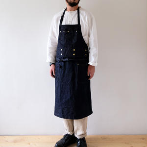 denim 2way apron A