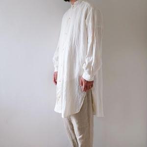 linen long shirts/Men's