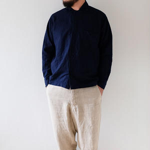 コットンシャツ(インディゴ) /Men's