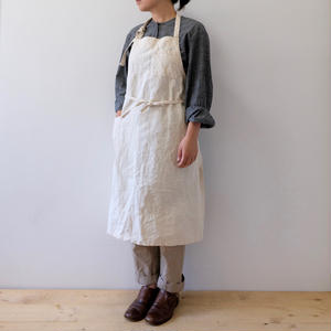 "remake ""◯"" apron"