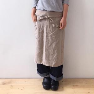 linen sarong apron