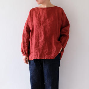 linen wide tops(茜)/Lady's
