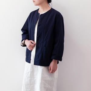 cotton Jacket (ノーカラー)