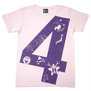 tgw024ut - fateful 4 UネックTシャツ -G- パンクTシャツ グラフィック プリント 半袖 カットソー メンズ レディース