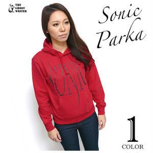 a02pk - SONIC スウェット パーカー - LPR -G- ロック ソニック ミュージック ROCK Parka プルオーバー