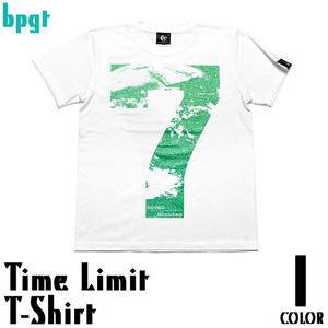 sp038tee - Time Limit(タイムリミット)Tシャツ -G-  メッセージ デザインTシャツ 地球