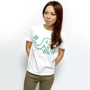 ☆特別プライス☆ sp018tee - ゾウさん Tシャツ -G- 半袖 ロゴ 象 かわいい イラスト メンズ レディース