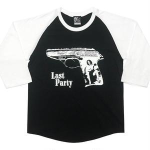 tgw011rg - Last Party 1『Pistol』ラグランスリーブ -G- カットソー パンクロックTシャツ アメカジ カジュアル
