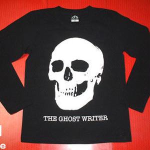 tgw013lt - スカル ロングスリーブTシャツ -G- ロック ガイコツ ドクロ ロンT 長袖
