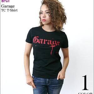 sp043tc - Garage(ガレージ) TC Tシャツ -G- ロック バンドTシャツ ブラック かっこいい メンズ レディース