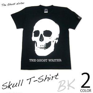 ☆特別プライス☆ tgw013tee-bk - スカル Tシャツ(ブラック) - The Ghost Writer -G-( パンク ロックTシャツ )