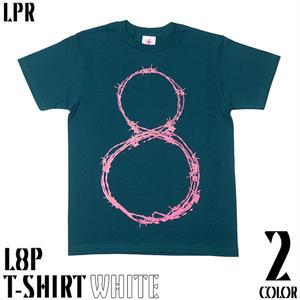 a10tee - L8P Tシャツ -G-( エイト ループ LOOP パンク ロックTシャツ 有刺鉄線 )