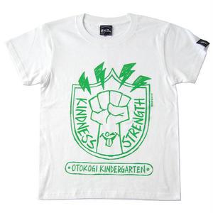 har007tee - OTOKOGI KINDERGARTEN Tシャツ (ホワイト) -G- かわいい ロゴマーク カジュアル アメカジ コラボ
