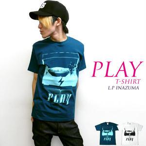 2weekセール☆ a04-t - PLAY Tシャツ - LPR -G-( ROCK ロック ミュージック 音楽 オリジナル 半袖Tee )