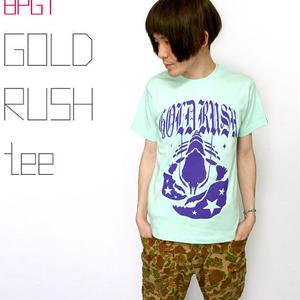 2weekセール☆ sp009teee - GOLD RUSH(ゴールドラッシュ)Tシャツ- BPGT -G-( ロック ROCK ポップ オリジナルTシャツ 半袖Tee )