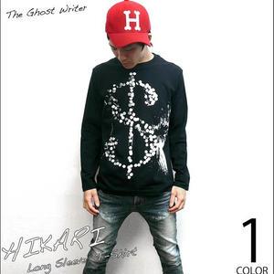 tgw040lt - HIKARI ロングスリーブTシャツ -G- ロンT 長袖 パンク ロック メンズ レディース